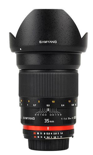 Samyang 35mm F1.4 AS UMC For Sony E / Sony A