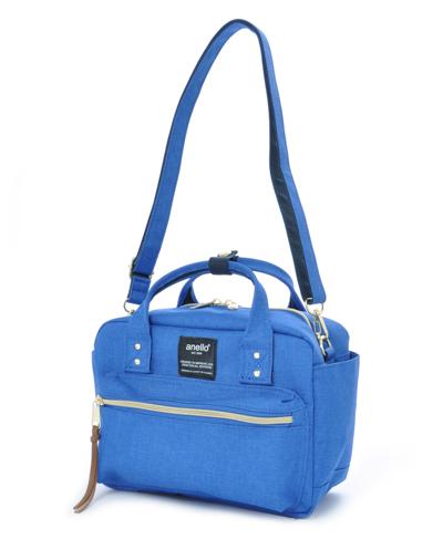 Anello square boston mini 2way BLUE (New!!!)