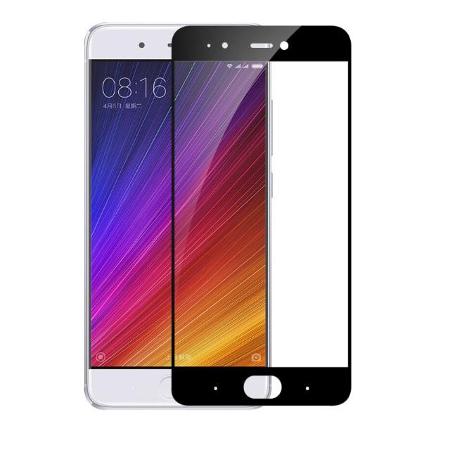Xiaomi Mi5s ฟิล์มกระจกนิรภัยเต็มจอ 9H+ บาง 0.33mm (ขอบดำ)