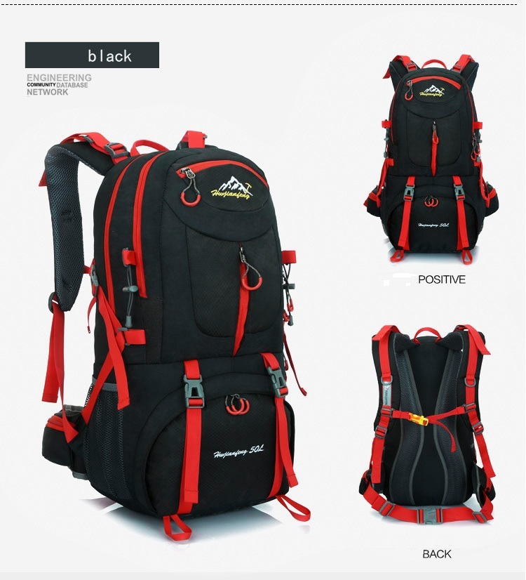 กระเป๋า Hiking camping backpack 50 ลิตร