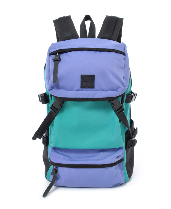 Anello Backpack AH-B1901 Lavender/Green