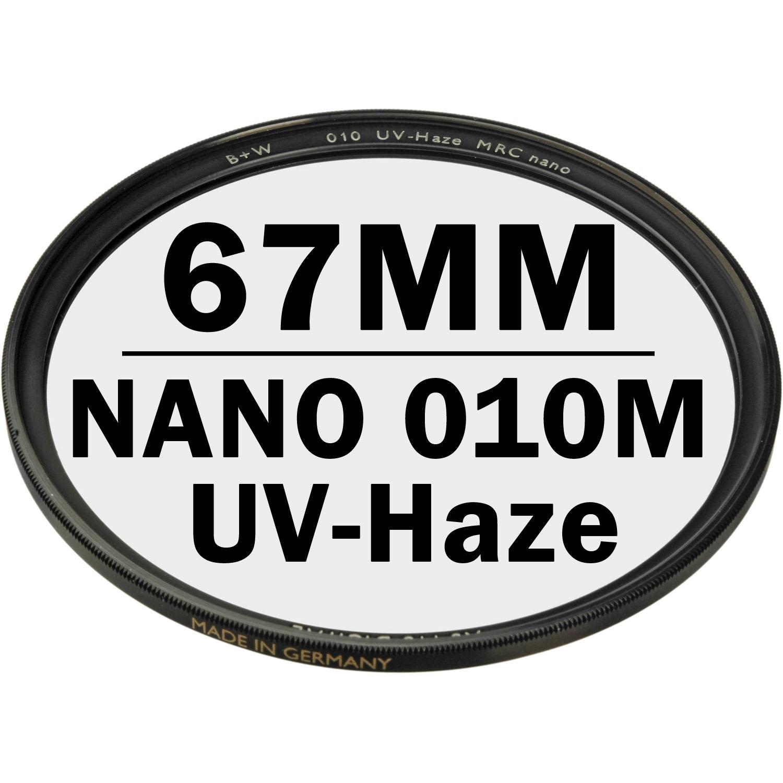 B+W 67 mm XS PRO UV Haze 010M MRC NANO Digital Filter