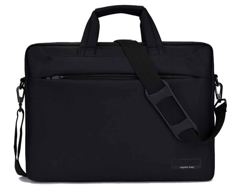 Classic notebook bag double shockproof กันกระแทก 2 ชั้น (สีดำ)