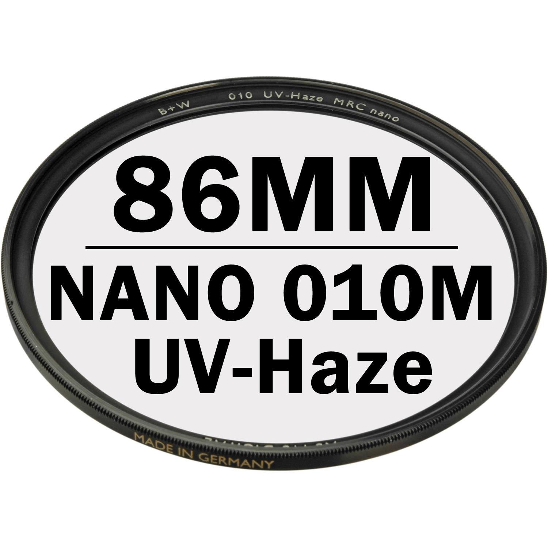 B+W 86 mm XS PRO UV Haze 010M MRC NANO Digital Filter