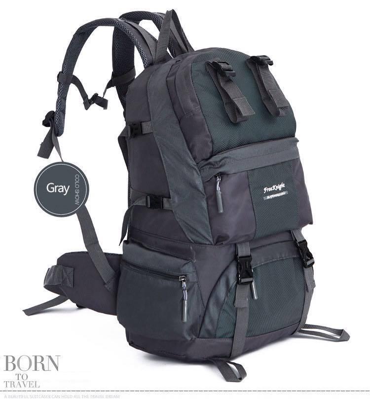 กระเป๋าเป้ ฺBackpack Mountaineering Hiking 50ลิตร