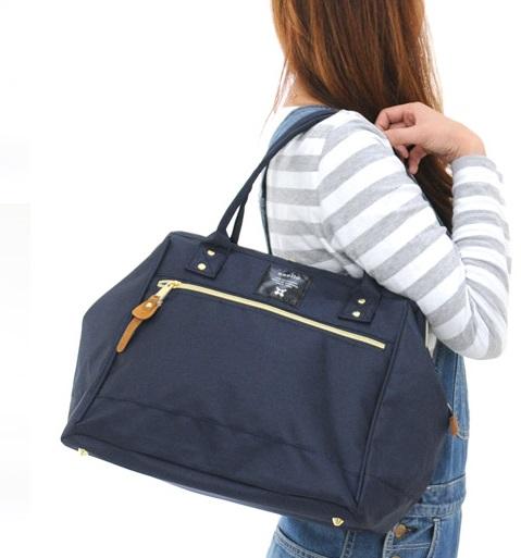 Anello Shoulder Bag กระเป๋าถือ/คล้องไหล่ สี Navy