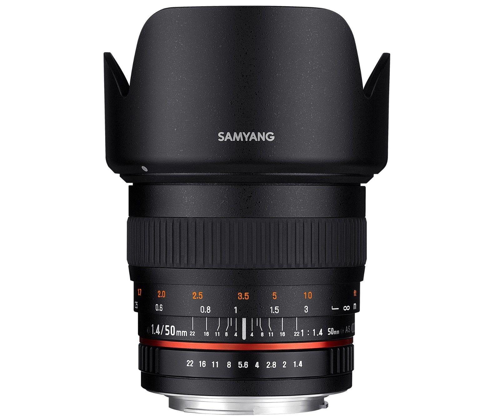 Samyang 50mm F1.4 AS UMC Full Frame For Nikon