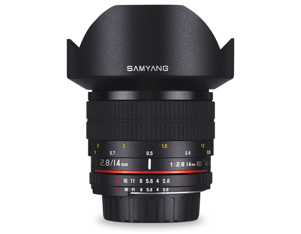 Samyang 14mm f/2.8 IF ED UMC Aspherical Nikon