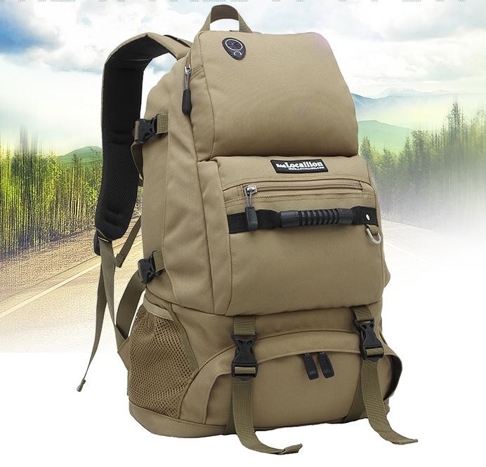 ฺLocallion backpack 40L 2nd Edition (สีน้ำตาล)