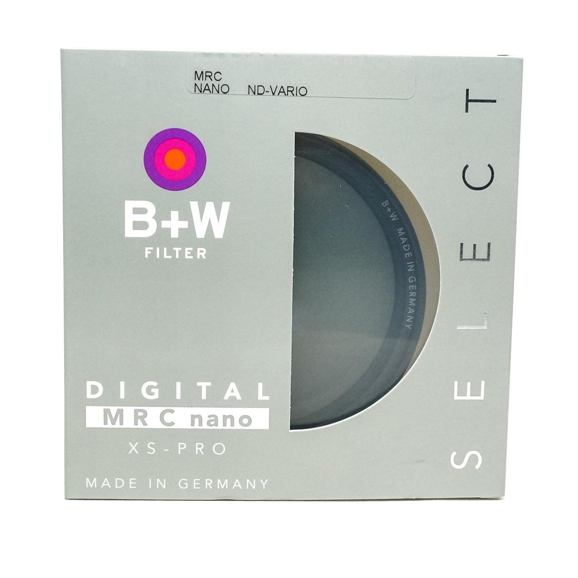 B+W 82 mm XS-Pro ND Vario MRC nano Digital Neutral Density Filter