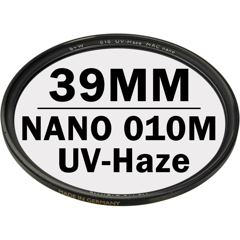 B+W 39 mm XS PRO UV Haze 010M MRC NANO Digital Filter