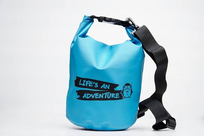 OP-10L กระเป๋ากันน้ำ Penguin Bag ขนาด 10L 4 สี ส้ม ฟ้า ชมพู เขียว