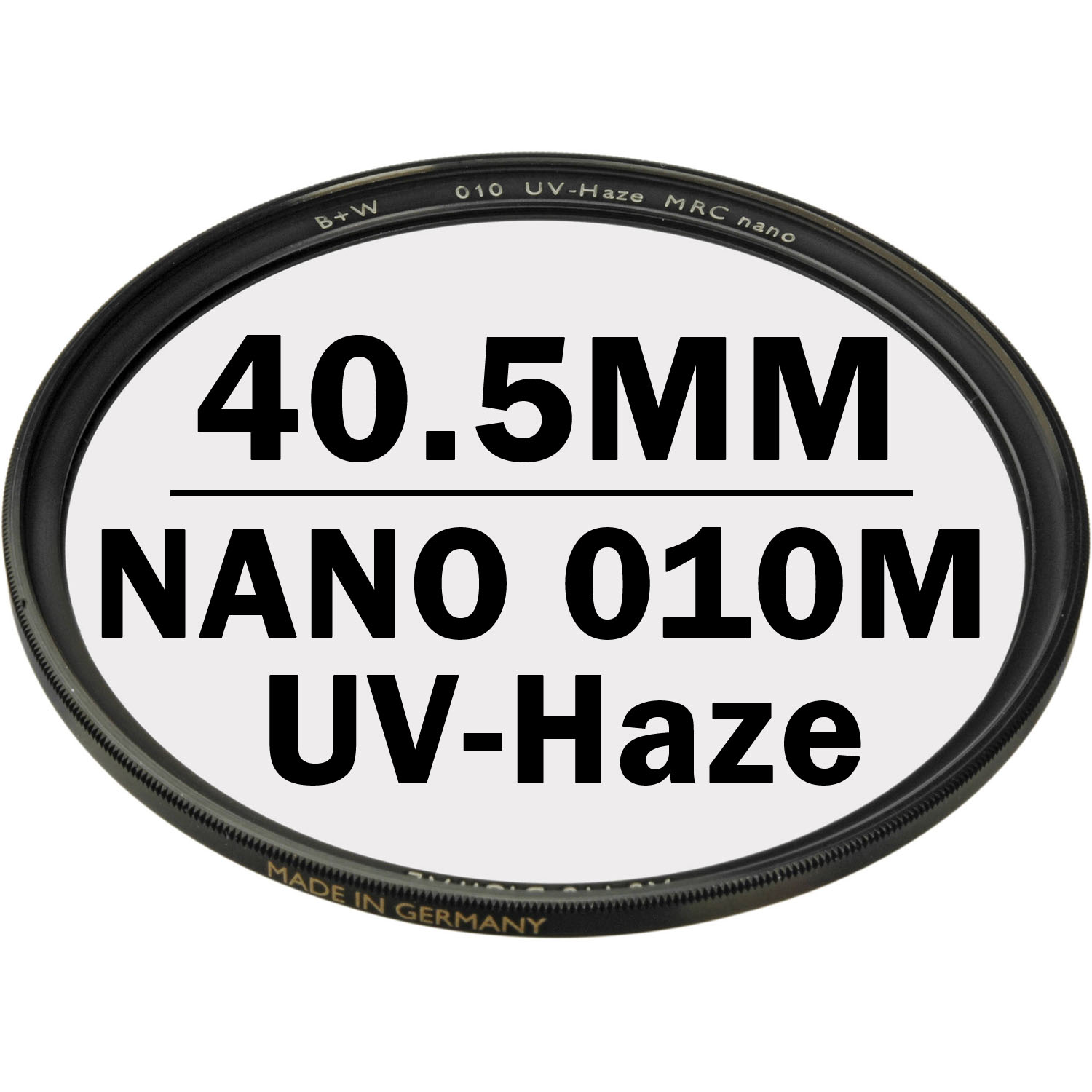 B+W 40.5 mm XS PRO UV Haze 010M MRC NANO Digital Filter