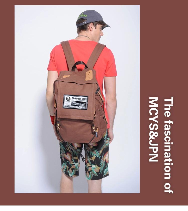 กระเป๋าเป้ MCYS&JPN Tide sign ( มี 6 สี )