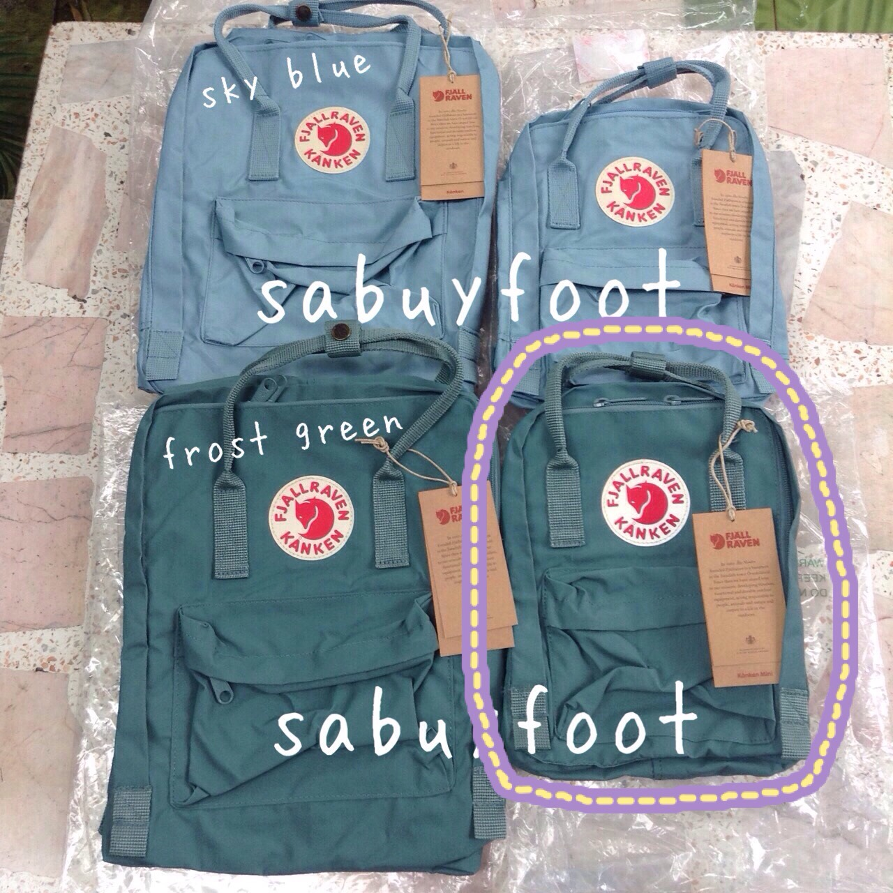 Kanken Frost Green Vs Sky Bluearctic Fox Classic Mini Fjallraven Laptop 15ampquot Ox Red Royal Blue Sabuyfoot Inspired By Lnwshop Com