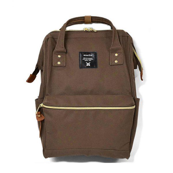 กระเป๋าเป้ Anello Canvas brown (Mini)