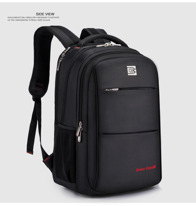 กระเป๋าสะพาย Bruno Cavalli (สีดำ) ใส่ Notebook