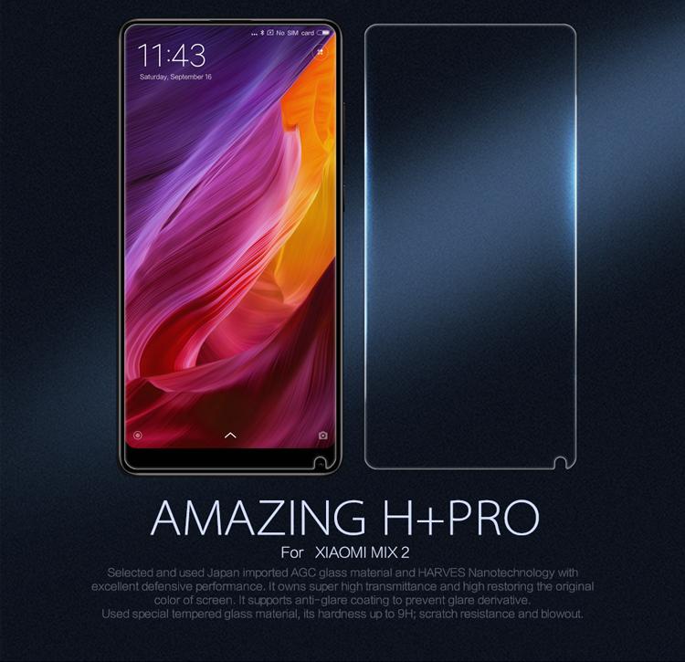 Xiaomi Mi Mix 2S / Mix 2 ฟิล์มกระจกนิรภัย Nillkin H+ Pro บาง 0.2mm (ไม่เต็มจอ)