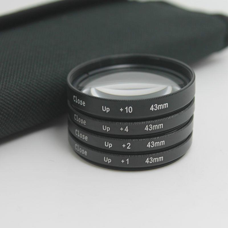 Filter Close UP +1 +2 +4 +10 Set 43 mm
