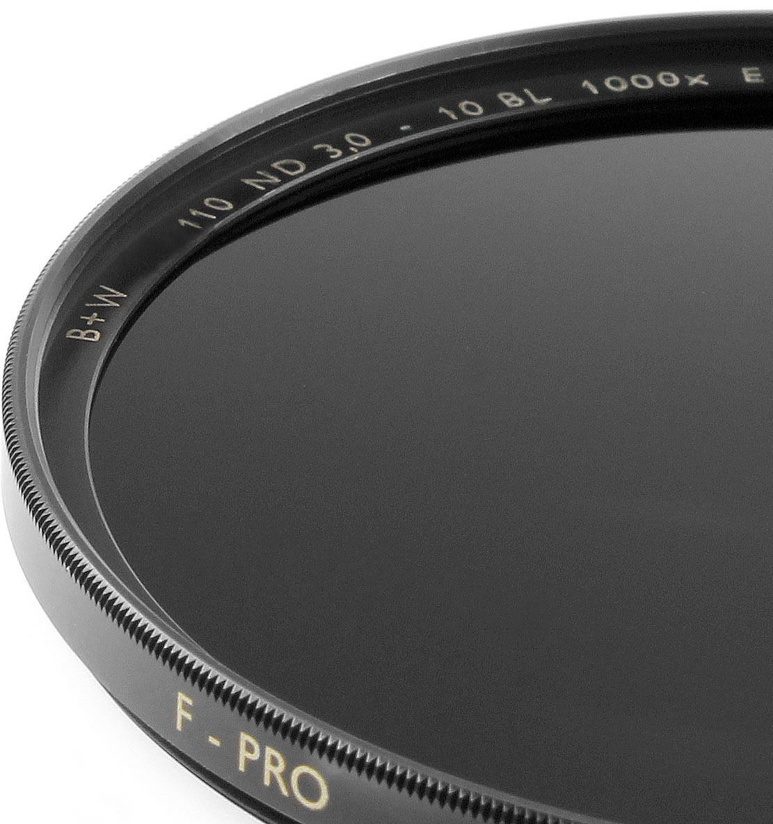 B+W 62 mm 3.0 ND 110 F-pro Neutral Density ND1000x SC Single Coated Filter
