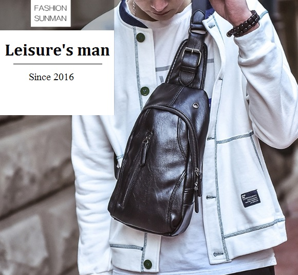 กระเป๋าคาดอก ผู้ชาย/ผู้หญิง Leisure's man