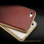 Case Xiaomi Mi Note Aluminum Border & Leather Back Cover