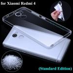 เคส Xiaomi Redmi 4 DFIFAN TPU แบบนิ่ม สีใส