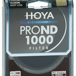 HOYA 58 mm PRO ND 1000 Neutral Density 10 Stop Filter