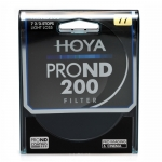 HOYA 77 mm PRO ND 200 Neutral Density 7 2/3 Stop Filter