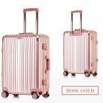 กระเป๋าเดินทางล้อลาก Hefty Hard Suitcase สี Rose Gold
