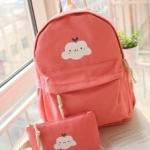 กระเป๋าเป้สีหวาน Molly Moon