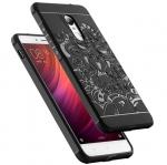 เคส Xiaomi Redmi Note 4X TPU สีดำ (ลายมังกร)