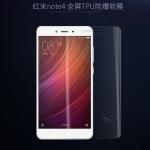 ฟิล์มกันรอย TPU เต็มจอ Xiaomi Redmi Note 4X