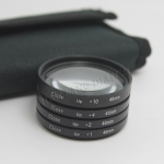 Filter Close UP +1 +2 +4 +10 Set 46 mm