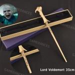 ไม้กายสิทธิ์ ไม้โวลเดอร์มอล์ เเบบแกนโลหะไม่มีไฟ (Lord Voldemort Iron Wand)