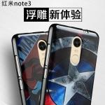 เคส Xiaomi Redmi Note 3 ซิลิโคน 3D ลาย Super Hero