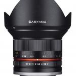 Samyang 12mm f/2.0 NCS CS lens Sony E / Fuji X / Micro 4/3