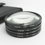 Filter Close UP +1 +2 +4 +10 Set 77 mm