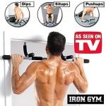 บาร์โหนเอนกประสงค์ Iron Gym 4 in 1 ดึงข้อ ซิทอัพ วิดพื้น Dips