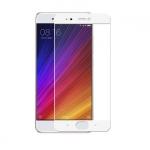 Xiaomi Mi5s ฟิล์มกระจกนิรภัยเต็มจอ 9H+ บาง 0.33mm (ขอบขาว)