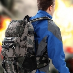 กระเป๋าเป้ Expandable camouflage backpack 40L