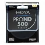 HOYA 58 mm PRO ND 500 Neutral Density 9 Stop Filter