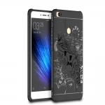 เคส Xiaomi Mi Max 2 TPU สีดำ (ลายมังกร)