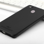 เคส Xiaomi Redmi 3S Simple TPU (Black)