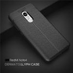 เคส Xiaomi Redmi Note 4X / Redmi Note 4 ซิลิโคน TPU ลายหนัง (เคสนิ่ม)