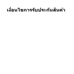 Warranty Terms and Conditions / เงื่อนไขการรับประกัน