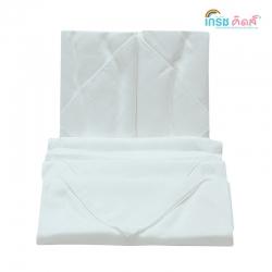เกรซคิดส์ผ้าอ้อมเยื่อไผ่เนื้อนิ่ม ขาวล้วน ขนาด30x30นิ้ว ยกลัง(6 แพ็ค)
