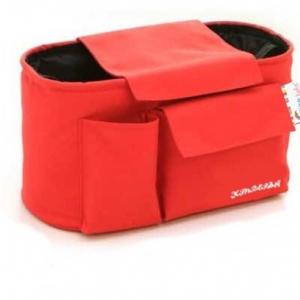เกรซคิดส์กระเป๋าห้อยรถเข็น แบบ Half Hanger (สีแดง) ยกลัง(6 ชิ้น)