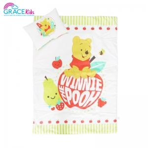 ผ้าห่มพร้อมหมอน Pooh apple ขนาด L