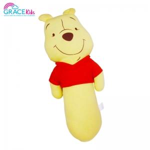 Pooh หมอนข้างผ้ายืด ขนาดใหญ่ (มีแขน)